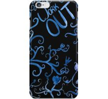 WORK OUT  iPhone Case/Skin