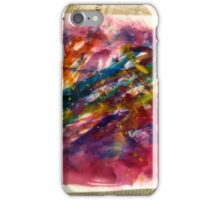 Abstrakte Kunst iPhone Case/Skin