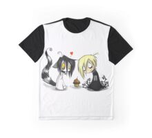EMO- Cupcake Couple Graphic T-Shirt
