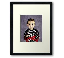 Little Man Framed Print