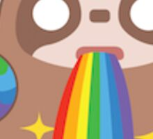 Rainbow Sloth Snapchat Sticker