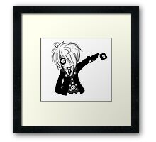 EMO- Black Parade Framed Print