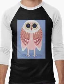 AWAKE OWL Men's Baseball ¾ T-Shirt
