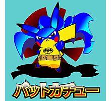 Pokemon Bat Pikachu Photographic Print
