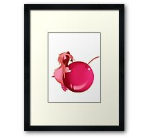 EMO- Cherry Lover Framed Print