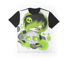 EMO- Green Fashion Graphic T-Shirt