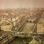 Paris Cityscape by joancarroll