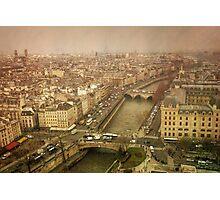 Paris Cityscape Photographic Print