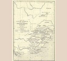 Vintage Map Of South Africa Missions (Early 20th Century) T-Shirt