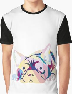 Frenchie Pink French Bulldog Graphic T-Shirt