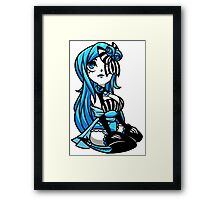 EMO- Blue Moonlight Framed Print