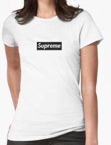 Supreme Black Box Logo Womens Fitted T-Shirt