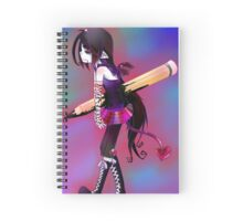 EMO- Broken Heart-ed Spiral Notebook