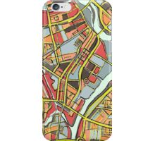 Abstract Map of Lowell iPhone Case/Skin