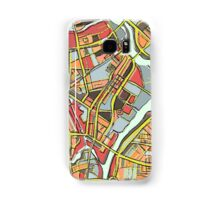 Abstract Map of Lowell Samsung Galaxy Case/Skin