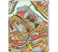 Abstract Map of Lowell iPad Case/Skin