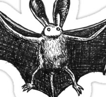 Bat cute drawing Sticker