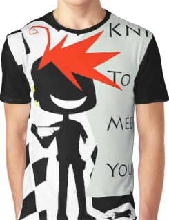 EMO- Knife To Meet You Graphic T-Shirt