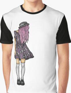 Fair Hipster Girl Graphic T-Shirt