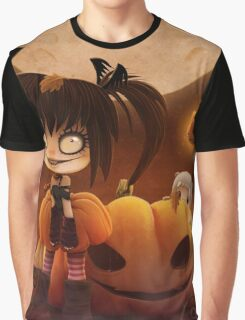 EMO- Halloween Costume Outfit Graphic T-Shirt
