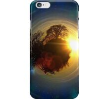 Mini-Planet Lonely Tree Spaced iPhone Case/Skin