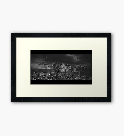 Haunting... Framed Print