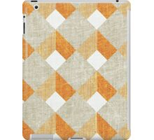Orange wall iPad Case/Skin