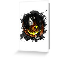 EMO- Happy Halloween From The Strange Guy Greeting Card