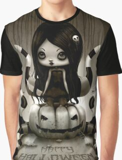 EMO- Octopus Little Girl Graphic T-Shirt