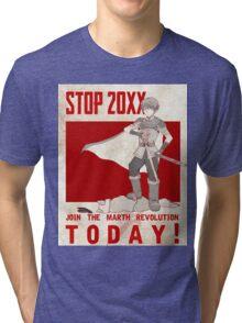 Marth Propaganda Poster Tri-blend T-Shirt