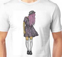 Medium Hipster Girl Unisex T-Shirt