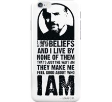 Feel Good Who I Am Quote - Louis CK iPhone Case/Skin