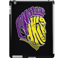 Long Live d King iPad Case/Skin