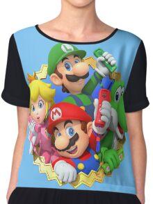 Mario party 10 Chiffon Top