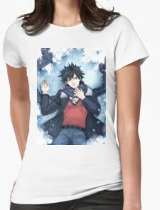 Fairy Tail - Gray Fullbuster  Womens Fitted T-Shirt