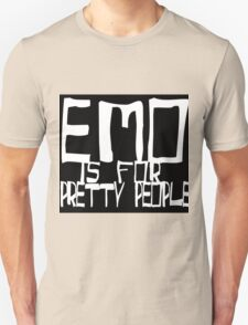 EMO- Pretty People Inside Out Unisex T-Shirt