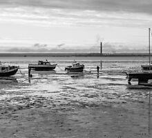 Thorpe Bay, low tide by Andrew O'Hara