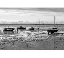 Thorpe Bay, low tide Photographic Print