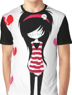EMO- Pure Repulsed Girl Graphic T-Shirt