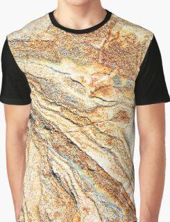 Marble Golden Bronze  Graphic T-Shirt