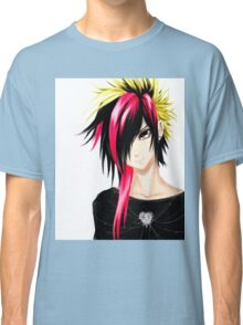 EMO- Colorful Chipper Hair Classic T-Shirt
