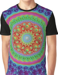Fractal - Psychedelic Math of the Infinite! Graphic T-Shirt
