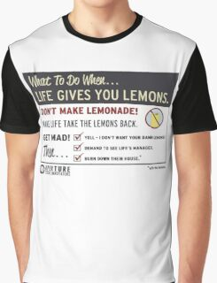 When Life Gives You Lemons - Apeture Science Graphic T-Shirt