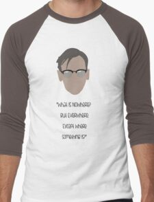 Gotham, Nygma, Quote Men's Baseball ¾ T-Shirt
