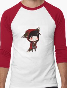 EMO- Red Riding Hood and The Wolf Pack Men's Baseball ¾ T-Shirt