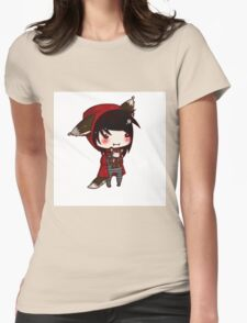 EMO- Red Riding Hood and The Wolf Pack Womens Fitted T-Shirt
