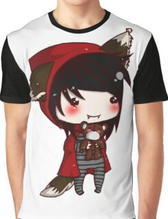 EMO- Red Riding Hood and The Wolf Pack Graphic T-Shirt