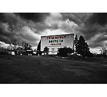 Drive-In Theater Selective Color I Photographic Print