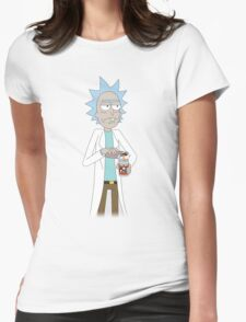 Rick & Morty - Muff Beer Womens Fitted T-Shirt