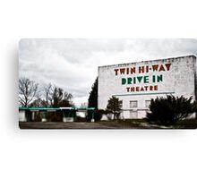 Drive-In Theater TiltShift Canvas Print